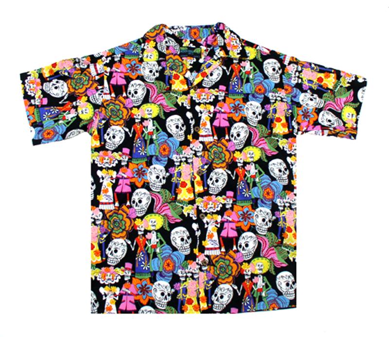 Lovers hawaiian shirts moon dog shirt co for The hawaiian shirt company