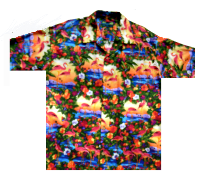 Paradise island hawaiian shirts moon dog shirt co for The hawaiian shirt company
